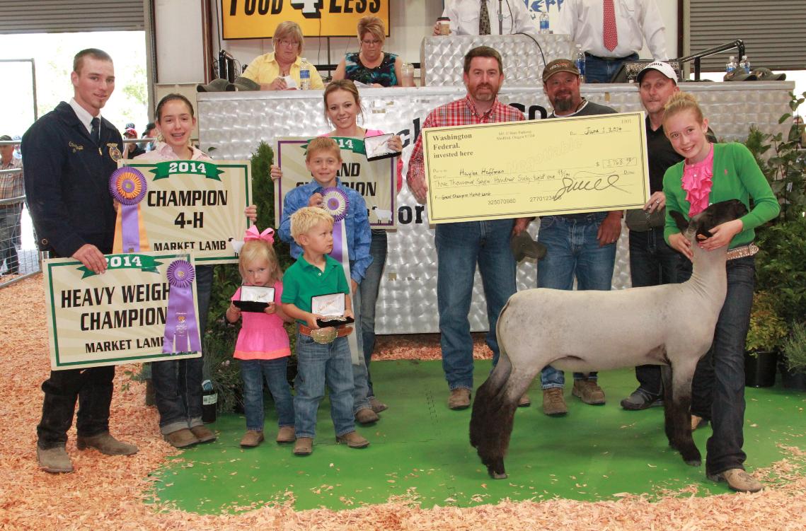Past Sales Jackson County Junior Livestock Auction